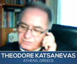 Theodore Katsanevas in Athens, Greece.  Watch the video.