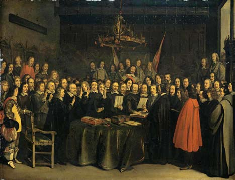 Treaty of Westphalia painting