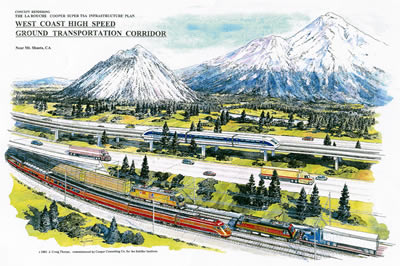 West Coast High Speed Rail Corridor