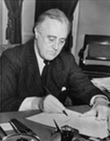 Franklin D. Roosevelt signs Housing Act