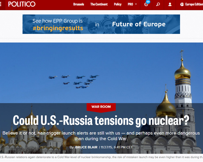 Read the article on Politico